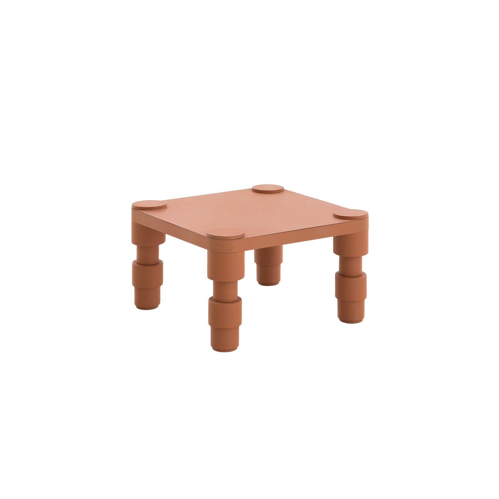 Astonishing Gan Garden Layers Outdoor Terracotta Side Table Pabps2019 Chair Design Images Pabps2019Com